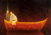 Arūno Žilio paveikslas - iš nakties
