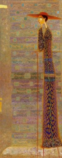 Arūno Žilio paveikslas - Laukiant