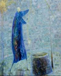 Arūno Žilio paveikslas - Prie šulinio