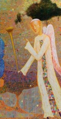 Arūno Žilio paveikslas - Angelas