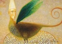 Arūno Žilio paveikslas - Žmogus paukštis