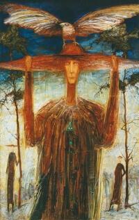Arūno Žilio paveikslas - trečioji akis