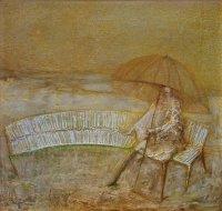 Arūno Žilio paveikslas - popietė