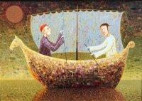 Arūno Žilio paveikslas - Pavėjui